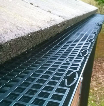 Gutter Guards & Hedgehog